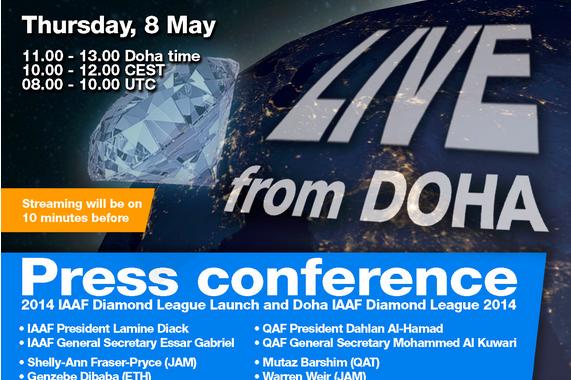 LIVE Stream of Doha 2014 press conference (IDL)