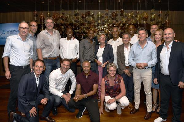 Stars assembled at Zurich Weltklasse Heritage event (Weltklasse)