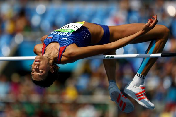 Blanka Vlasic in the high jump at the Rio 2016 Olympic Games (Getty Images)