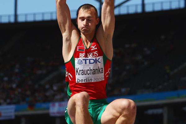 Belarusian decathlete Andrei Krauchanka (Getty Images)
