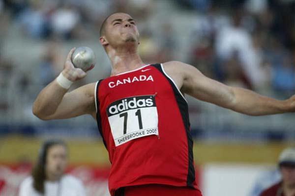 Kyle Helf of Canada - shot put silver medallist (Getty Images)