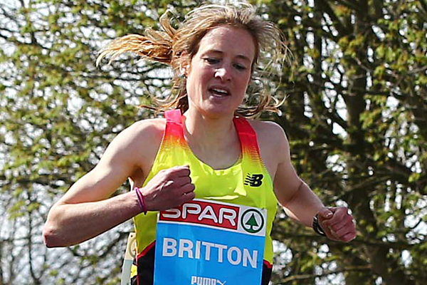 Fionnuala McCormack finishes second in the 2015 SPAR Great Ireland Run (The Great Run Company)