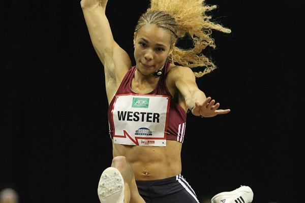 Alexandra Wester at the ISTAF Indoor 2016 meeting in Berlin  (Jean-Pierre Durand)