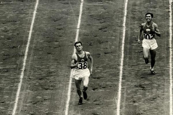 Marko Racic of Slovenia at the 1948 Olympic Games (Marko Racic)