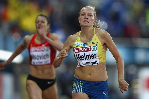 Moa Hjelmer takes surprise European 400m gold (Getty Images)