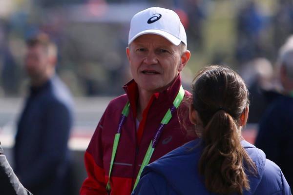 Jakob Larsen at the 2019 World Cross Country Championships in Aarhus (Danish Athletics Federation)