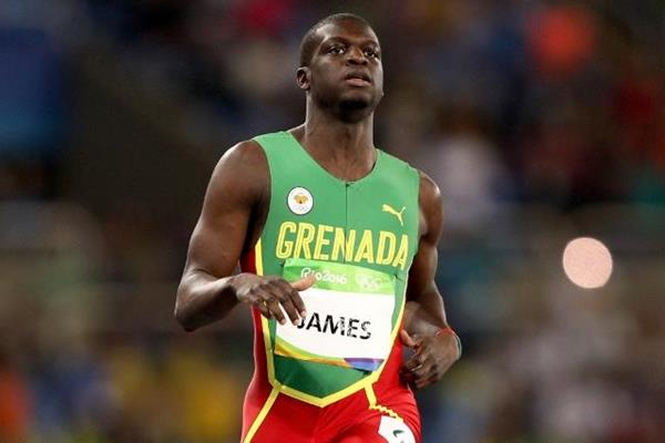 Kirani James in the 400m at the Rio 2016 Olympic Games (Getty Images)