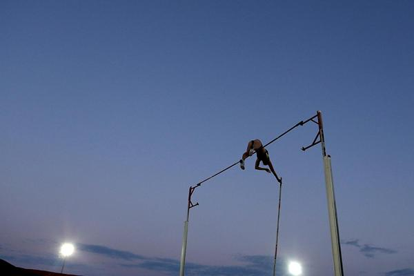Alana Boyd takes the Pole Vault victory in Adelaide (Getty Images)