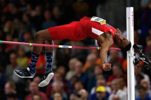 Erik Kynard at the IAAF World Indoor Championships Portland 2016 (Getty Images)
