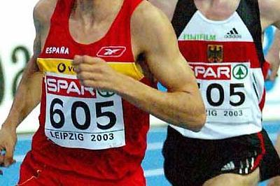 El Nasri (ESP) - 3000m 8:00.28 - in Leipzig (Mark Shearman)