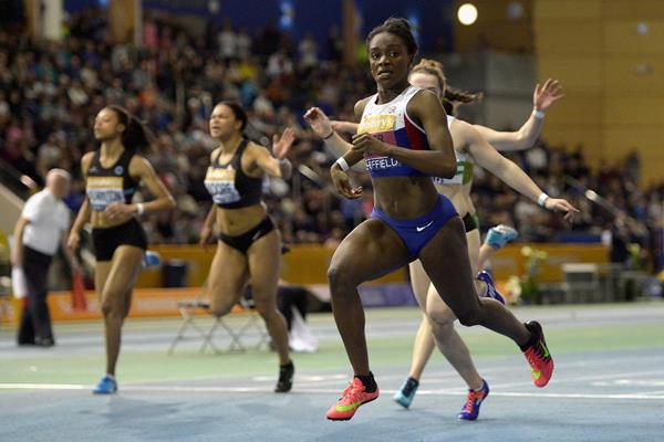 Dina Asher-Smith wins the British indoor 60m title (Getty Images)