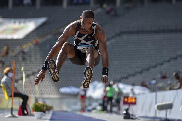 Christian Taylor in Berlin (Getty Images)