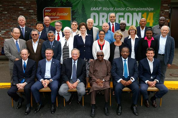 IAAF Council at Eugene, Oregon - 21 July 2014 (Getty Images)