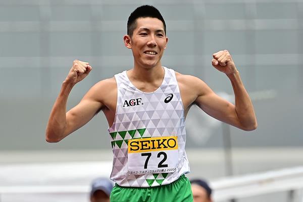 Japanese high jumper Takashi Eto (Getty Images)