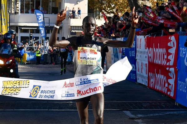 Henry Kiplagat wins the Marseille Cassis 20km (Jean-Philippe Borg - TeamPhoto)
