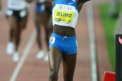 Pamela Jelimo runs the third fastest 800m of all time (Getty Images)