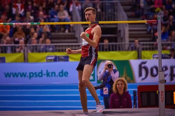 Mateusz Przybylko in Dusseldorf (Andreas Arndt/organisers)