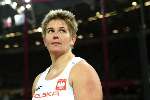 Hammer winner Anita Wlodarczyk at the IAAF World Championships London 2017 (Getty Images)