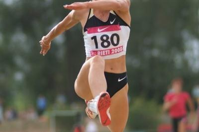 Tatyana Lebedeva in the Rieti Triple Jump (Lorenzo Sampaolo)