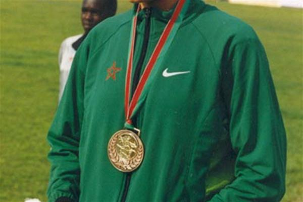Silham Hilali (MAR) - 2003 World Youth champion at 3000m (Mohammed Benchrif)