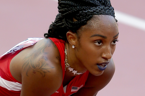 Brianna Rollins at the 2015 World Championships ()