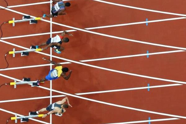The men's 100m at the IAAF World Championships London 2017 (Getty Images)