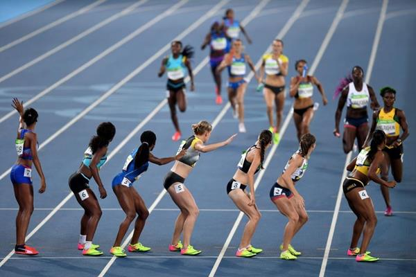 The women's 4x400m at the Rio 2016 Olympic Games (Getty Images)