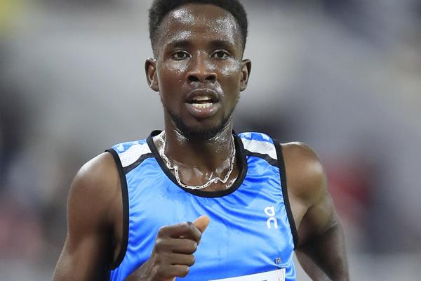 Athlete Refugee Team member Jamal Abdelmaji Eisa Mohammed at the IAAF World Athletics Championships Doha 2019 (Getty Images)