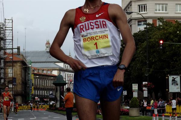 Another big win for Valeriy Borchin, this time in La Coruna (Véronique Warburton)