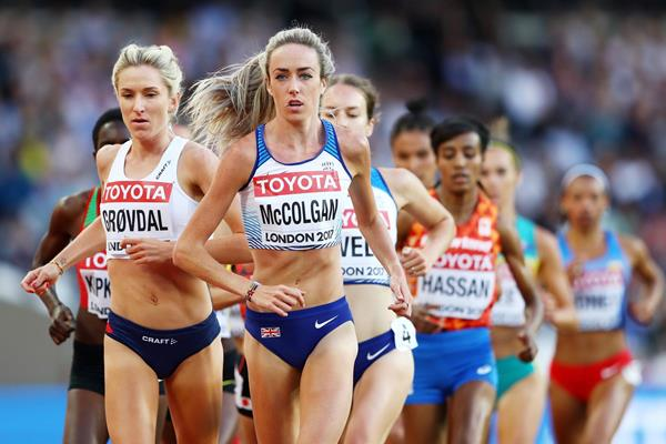 British middle distance runner Eilish McColgan (Getty Images)
