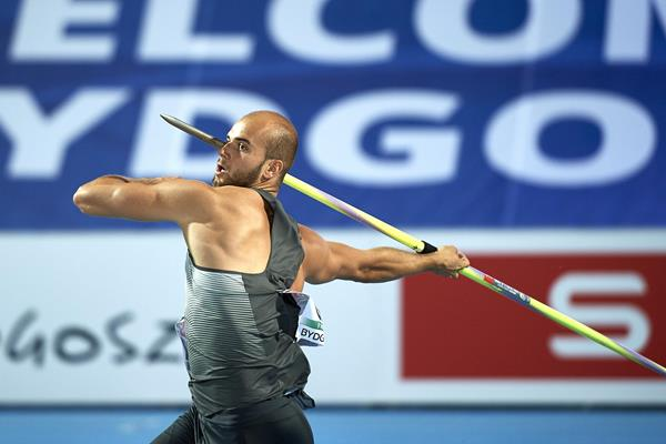 Julian Weber at the European Team Championships in Bydgoszcz (Getty Images)