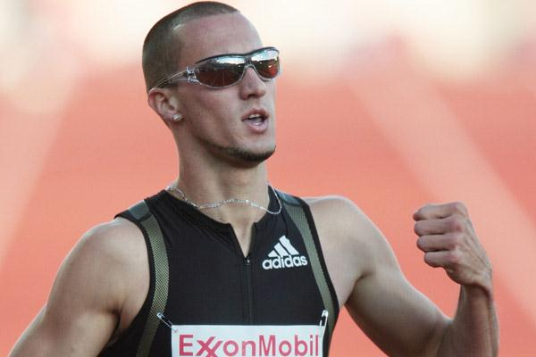 Jeremy Wariner set a world-leading 400m time in Oslo (Getty Images)