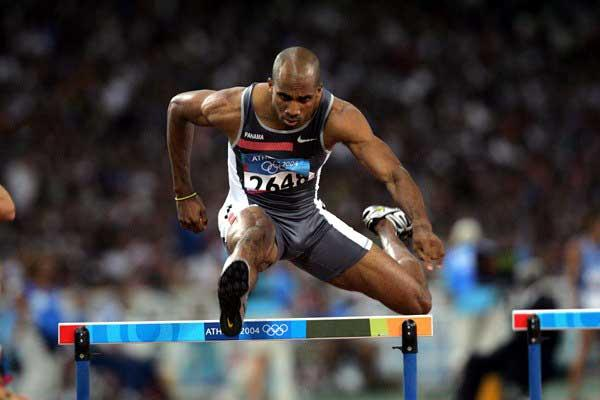 Panama's Bayano Kamani at the Athens Olympics (Victah Sailer)