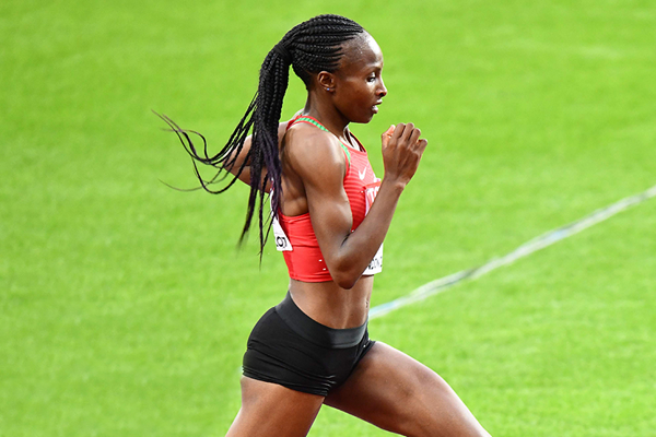 Kenyan distance runner Hellen Obiri (AFP / Getty Images)