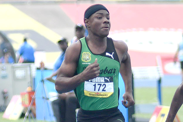 Michael Stephens in Kingston (Bryan Cummings/Jamaica Observer)