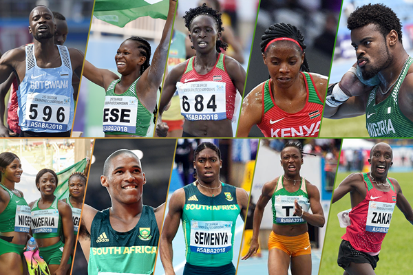 Ten memorable moments from the African Championships in Asaba (AFP / Getty Images / Bob Ramsak)