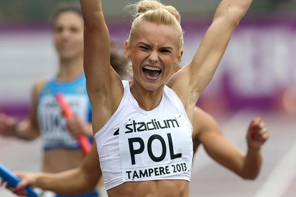 Polish sprinter Justyna Swiety (Getty Images)