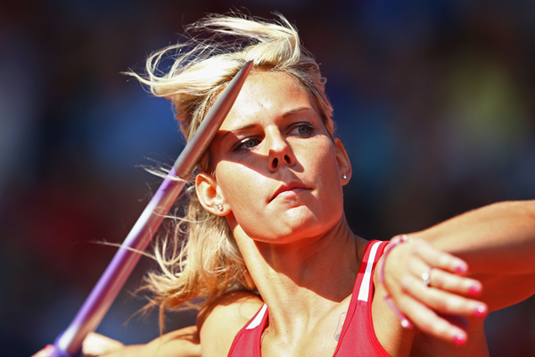 Czech javelin thrower Nikola Ogrodnikova (Getty Images)