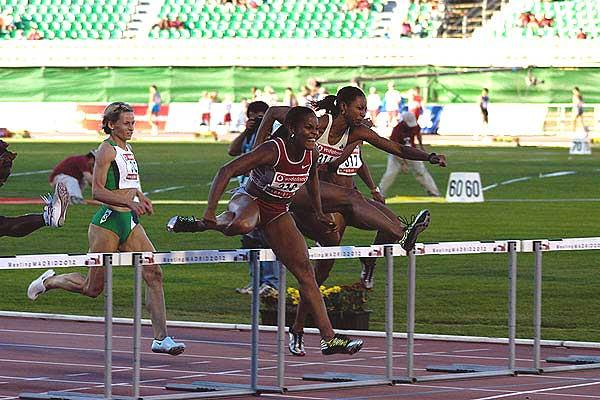 Brigitte Foster in Madrid (IAAF)