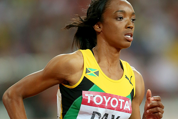Jamaican 400m sprinter Christine Day in action at the IAAF World Championships Beijing 2015 (Getty Images)