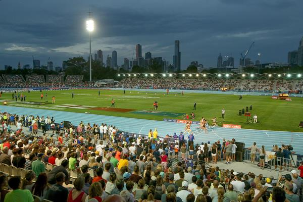 Lakeside Stadium in Melbourne, host of the first Nitro Athletics series meeting  (Getty Images)