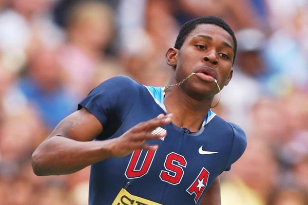 US sprinter Dedric Dukes (Getty Images)