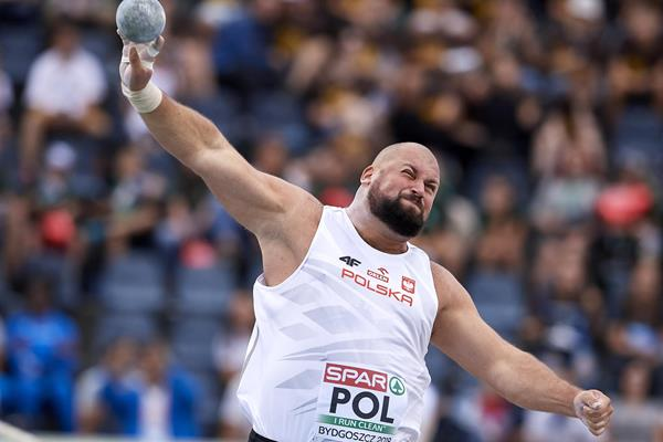 Michal Haratyk at the European Team Championships in Bydgoszcz (Getty Images)