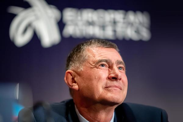 European Athletics interim President Dobromir Karamarinov (Getty Images)