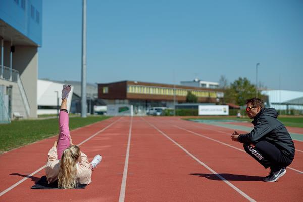 Ivona Dadic resumes training in St. Polten (Ivona Dadic)