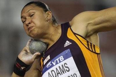 Valerie Adams scores a convincing win at the IAAF / VTB Bank Continental Cup in Split (Getty Images)