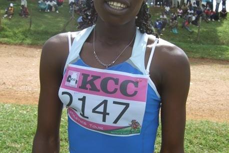 Pamela Jelimo in Kakamega, Kenya (Elias Makori)