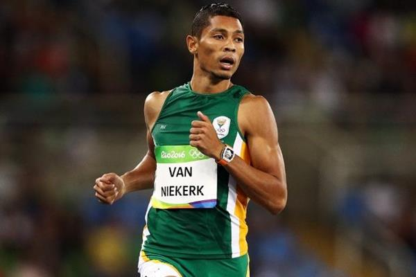 Wayde van Niekerk in the 400m at the Rio 2016 Olympic Games (Getty Images)