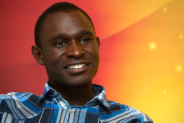 Kenyan middle-distance runner David Rudisha (Getty Images)