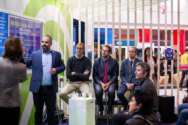 Miguel Escribano, Business development manager at Kunak, discusses the World Athletics Air Quality project at COP 25 (Kunak)